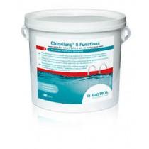 Chlorilong® 5 Funciones - sin sulfato de cobre 5,5kg