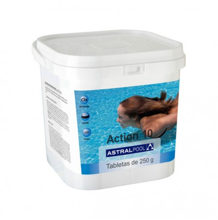 ACTION 10 ASTRALPOOL tabletas multiaccion